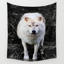 The Wolf Stare Wall Tapestry