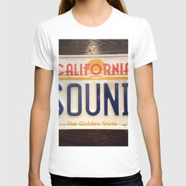 4 sounds California T-shirt