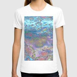 Psychedelic Ocean Water 2 -  Rainbow T-shirt