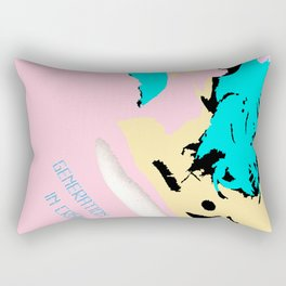 Generation in crisis Rectangular Pillow