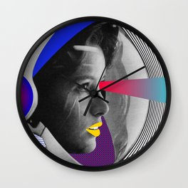 From the space Wall Clock
