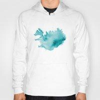 iceland Hoodies featuring Iceland by Kristjan Lyngmo