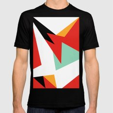 VII Hare Black SMALL Mens Fitted Tee