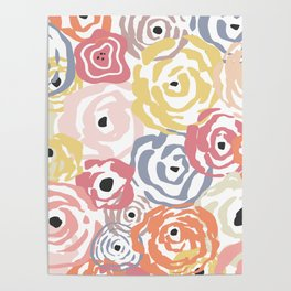 Colorful Flower Bundle Poster