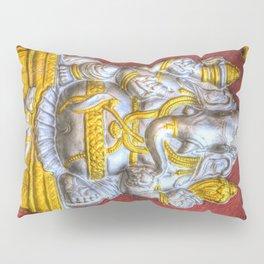 Indian Temple Elephant Pillow Sham