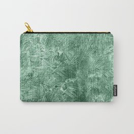 Grayed Jade Oil Painting Color Accent Carry-All Pouch