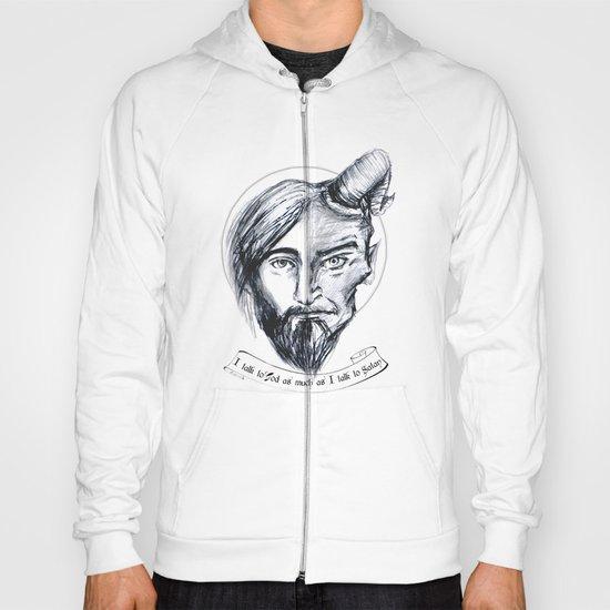 God and Satan Hoody