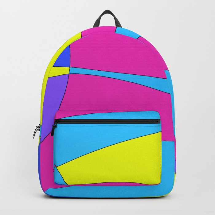 Colors in Sound Neon Backpack by mesateresita