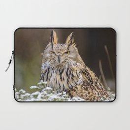 Western Siberian Owl Laptop Sleeve