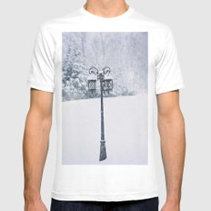 Welcome to Narnia White MEDIUM Mens Fitted Tee