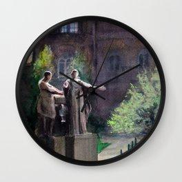 Alma Mater: U of Illinois Urbana Champaign Wall Clock