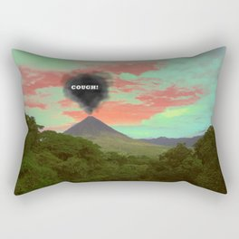 Cough Rectangular Pillow
