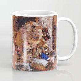 Edouard Vuillard - Children Reading - Digital Remastered Edition Coffee Mug