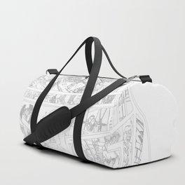 Boba Fett Collage Duffle Bag