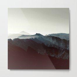 Montañas de Anaga Metal Print