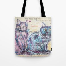 Here kitty, kitty Tote Bag