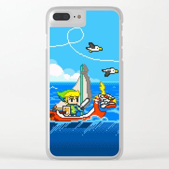 The Legend of Zelda: Wind Waker Advance Clear iPhone Case