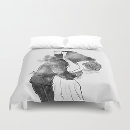 Introduce me to your universe. Duvet Cover