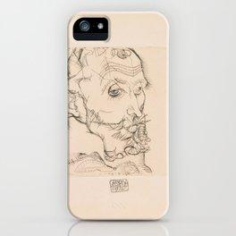 Egon Schiele - Portrait of Franz Hauer (1914) iPhone Case