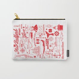 New Bedford Massachusetts Print Carry-All Pouch