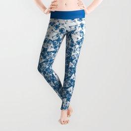 Blue Spins Leggings