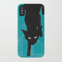 Black Kat iPhone Case
