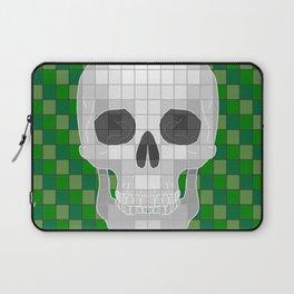 Green Skull Laptop Sleeve