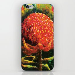 Waratah iPhone Skin