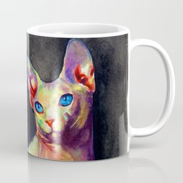 White Sphynx Coffee Mug