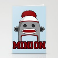 minions Stationery Cards featuring Misha's Minions by Evie Bird