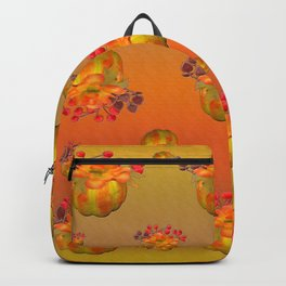 Fall Floral Squash Backpack