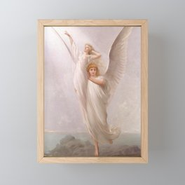"Luis Ricardo Falero ""The human soul"" Framed Mini Art Print"
