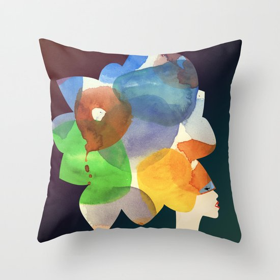 We Discovered Planets Throw Pillow