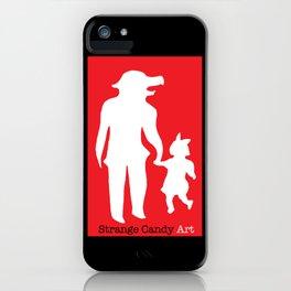 Strange Candy Art iPhone Case