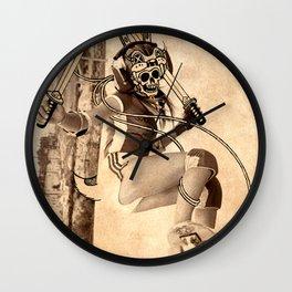 Skeletor Skate Girl Wall Clock