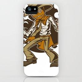 Voodoo Cowboy Gunslinger iPhone Case