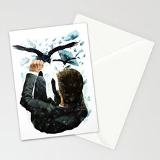 Falling To The Crows Stationery Cards