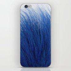 Blue Fuzz iPhone Skin