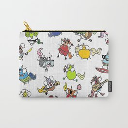 Phat Unicorn collage color Carry-All Pouch