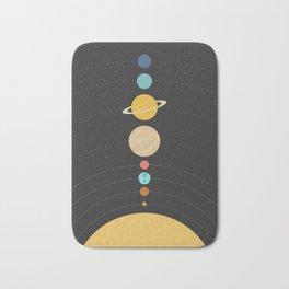 Solar System Bath Mat