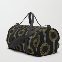 GUITAR IN ABSTRACT (geometric art deco) Duffle Bag