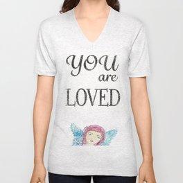 You are Loved Unisex V-Neck