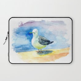 Dumb seagull Laptop Sleeve
