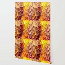 Sun Kissed Hidden Bubble Art Abstract Wallpaper