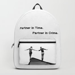 Partner in Time, Partner in Crime, Max Caulfield and Chloe Price Train Tracks Backpack