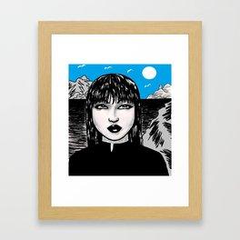 "SOULANAUTS:  ""SEXY ASIAN BABE"" Framed Art Print"