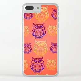 Owl Nation Clear iPhone Case