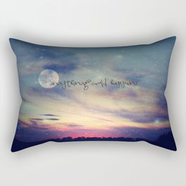 ANYTHING COULD HAPPEN Rectangular Pillow