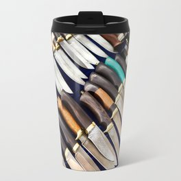 Forged hunting knives Travel Mug