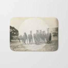 Band of Horses - White Bath Mat